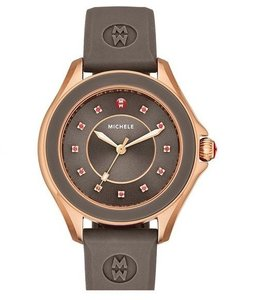 Michele Michele MWW27A000005 Cape Rose Gold Changeable Silicon Band Watch