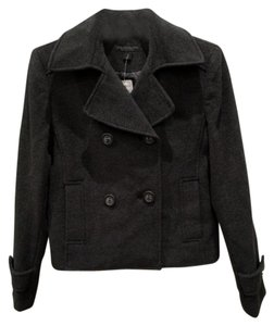 Express Double Breasted Short Pea Coat