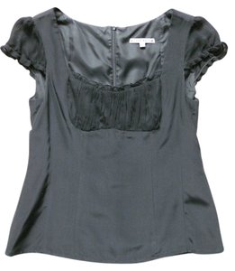 Nanette Lepore Silk Top black