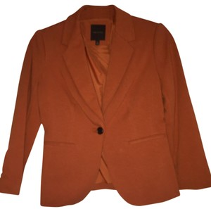 The Limited Burnt Orange Blazer