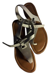 Toscanella Leather Italian Thong Sandals