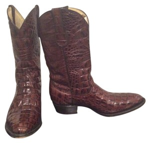 Buitre Leather Cowgirl Chocolate Boots