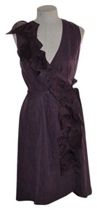 Kenneth Cole short dress Aubergine on Tradesy