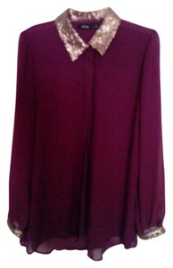 Apt. 9 Top Dark Purple