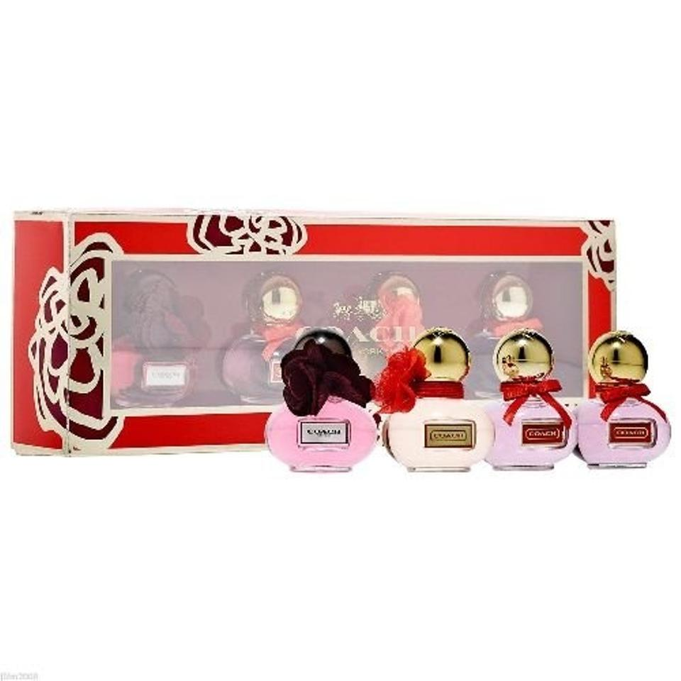 Coach House Of Poppy Deluxe Mini 4pc Coffret Gift Set Fragrance