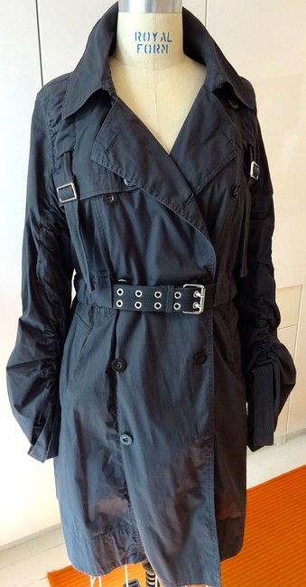 Item - Gray Style Cotton Trench Jacket Size 10 (M)