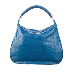 Tiffany & Co. Satchel in Peacock Blue