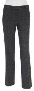 Theory Flare Leg Flare Pants Light Charcoal Grey