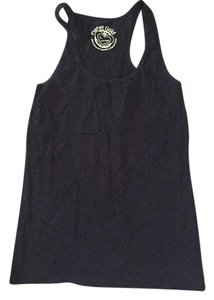 Planet Gold Top Navy blue