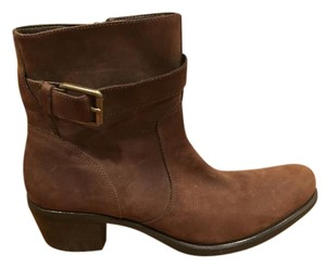 Cole Haan Luxury Leather Boot Brown Boots