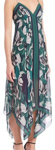 Blue, green Maxi Dress by BCBGMAXAZRIA