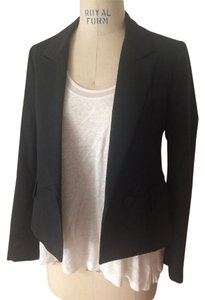 Stella McCartney Wool Semi Fitted Black Blazer
