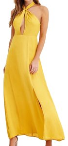 Yellow Maxi Dress by BCBGMAXAZRIA