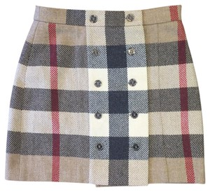 Burberry London Mini Skirt