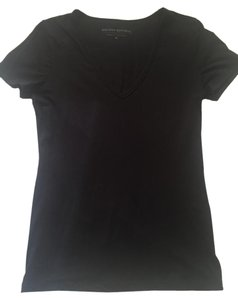 Banana Republic V-neck Tee Medium T Shirt Black
