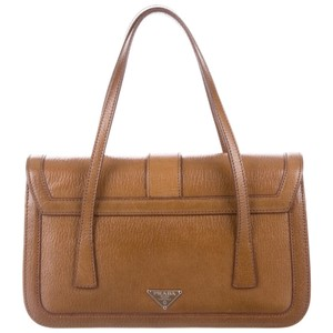 Prada Like New Dustbag Card Tote in Light Brown