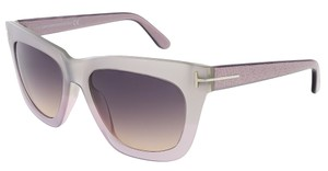 Tom Ford Tom Ford Silver Pearl Square Sunglasses