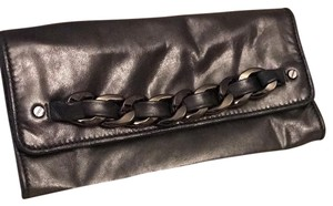 Michael Kors Gunmetal Clutch