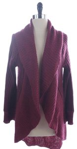 Nordstrom Maroon Mohair Funky Sweater