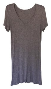 T by Alexander Wang short dress Heather grey on Tradesy