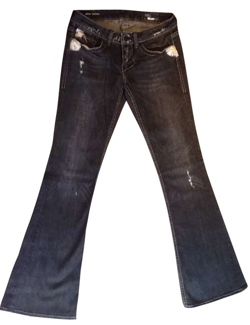 Preload https://item1.tradesy.com/images/william-rast-charcoal-distressed-belle-flare-leg-jeans-size-28-4-s-197680-0-0.jpg?width=400&height=650