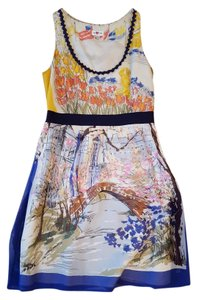 Anthropologie Watercolor Pockets Dress