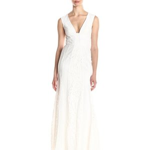 Bcbgmaxazria wedding dresses up to 90 off at tradesy bcbgmaxazria white destination wedding dress size 12 l junglespirit Images