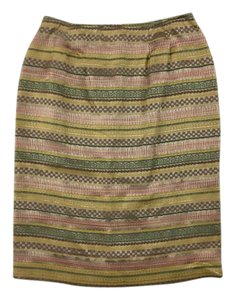 Doncaster Pencil Art To Wear Metallic Skirt