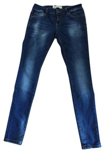 Zara Straight Leg Jeans-Distressed