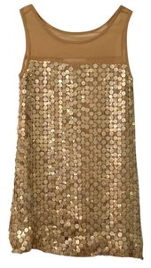 Sara Campbell Sequin Sheer Tunic