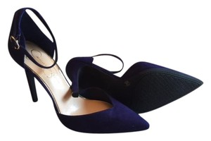 Jessica Simpson Boxed New Never Worn Pointed Toe Ankle Strap blue Pint Pumps
