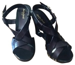 Charles David Dark purple Wedges