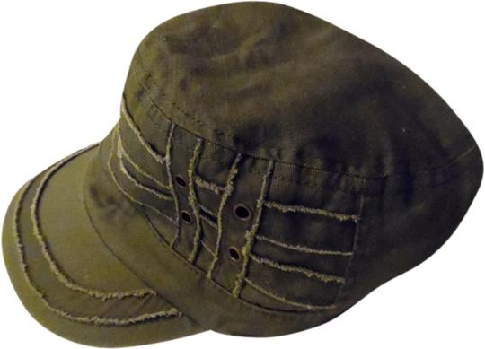 Preload https://item2.tradesy.com/images/d-and-y-army-green-brand-distressed-military-cadet-cap-hat-1976856-0-0.jpg?width=440&height=440