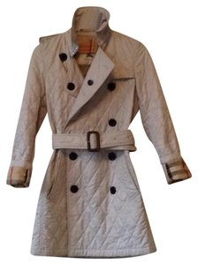 Burberry London Trench Quilted Trench Coat