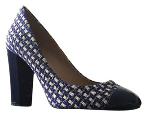 J.Crew Navy Tweed Pumps