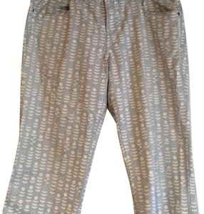 Anthropologie Capris Blue