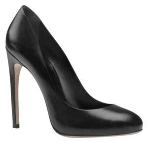 Gucci Leather High Pump Black Pumps