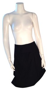 Uniqlo Size 10 Short Mini Skirt Black