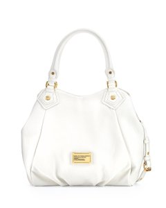 Marc by Marc Jacobs Q Fran Pebbled Leather Shoulder Bag