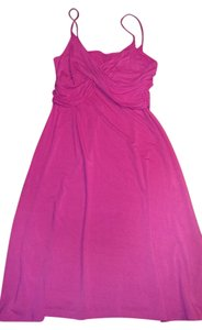 Tahari short dress Pink Size 8/10 Speggeti Strap on Tradesy
