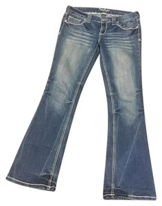 Amethyst Jeans Back To School Boot Cut Jeans-Distressed