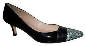 Jon Josef Patent Leather black & white Pumps