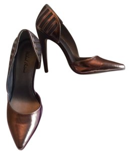 Michael Antonio Barely Worn Box Sexy bronze Pumps