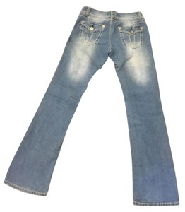 Angels Jeans Boot Cut Jeans-Distressed