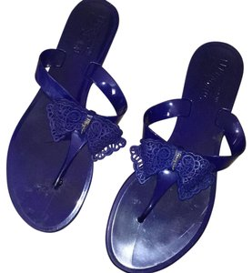 Salvatore Ferragamo Blue Sandals