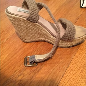 Steve Madden Espadrille Crochet Weitzman Neutral, tan Wedges