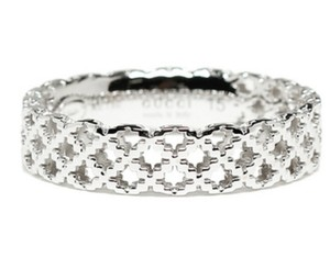 Gucci Gucci 18k White Gold Ring ITALY