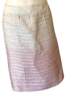 Nougat London Skirt Pale pink and beige.