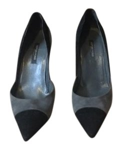 Sergio Rossi black and gray Pumps