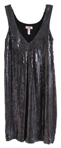 Lotta Stensson Sequin Shift V-neck Sparkle Dress